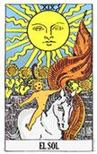 arcano del dia El Sol